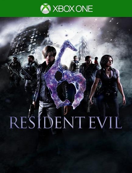 Resident Evil 6 Xbox One Original - 25 Dígitos (envio Flash)