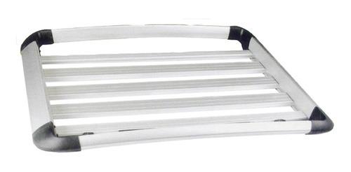 Parrilla Tipo Canasto Reforzado 130x100x16.5cm Aluminio