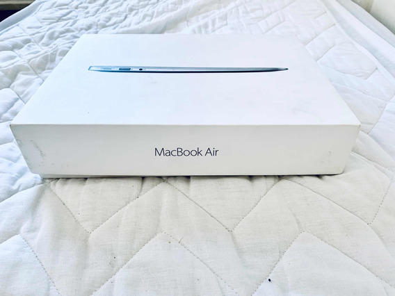 Caixa Macbook Air 13 Com Cabo Extensor Energia Original