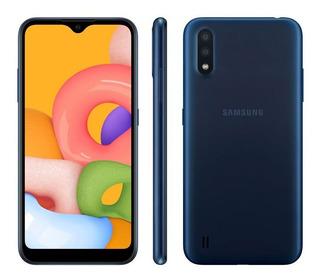 Smartphone Samsung Galaxy A01 32gb Tela 5.7 Android 10
