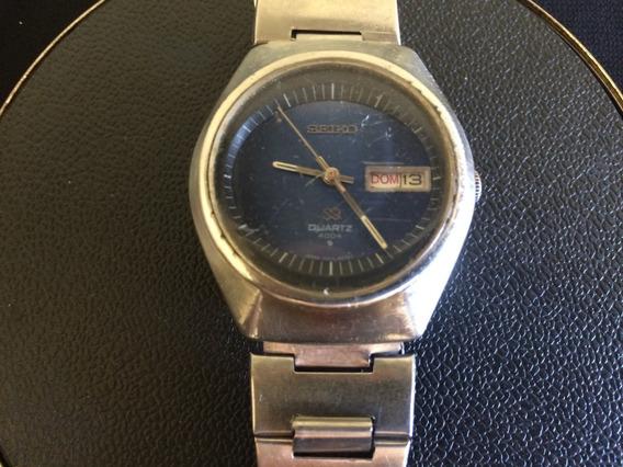 Antigo Relógio Masculino De Pulso Seiko Sq 4004
