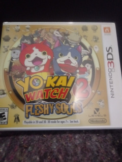 Yo Kai Watch 2 Fleshy Souls 3ds