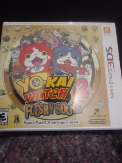 Yo Kai Watch 2 Fleshy Souls 3ds