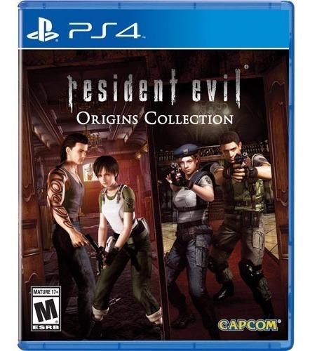 Jogo Ps4 - Resident Evil Origins Collection Novo - Lacrado