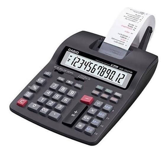 Calculadora Com Impressora Casio Hr-100rc Com Cálculo De Jur