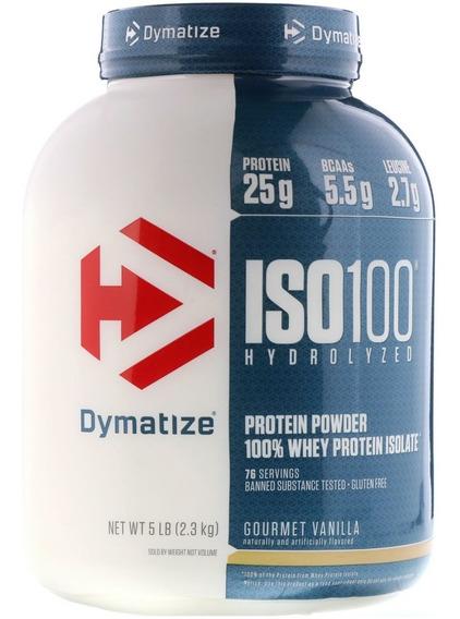Proteina Dymatize Iso 100 Hidrolizada 5 Lbs Todos Los Sabores!