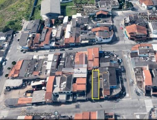 Terreno À Venda, 125 M² Por R$ 280.000,00 - Jardim São Judas - Mauá/sp - Te0113