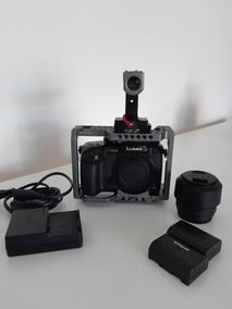 Panasonic Lumix Gh5 (v-log) + Cage + Baterias Extras - Usada