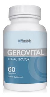 Gerovital H3 Ativador 60 Cáps. Biomedx Ginseng Paba Dmae +e+