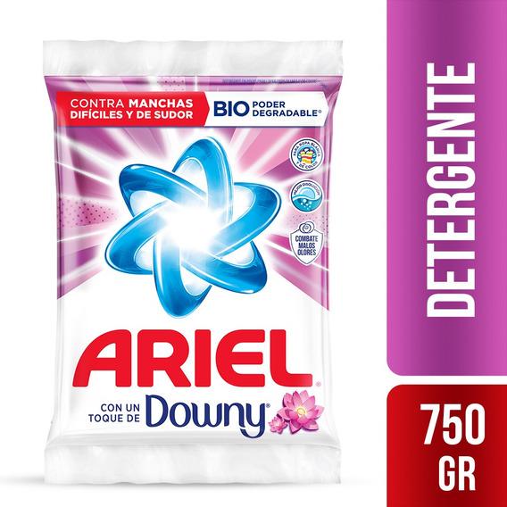 Detergente En Polvo Ariel Toque Downy 750gr