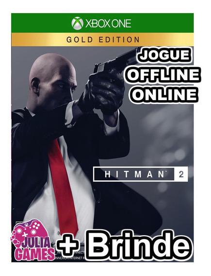 Hitman 2 Gold Edition Xbox One Midia Digital + Brinde