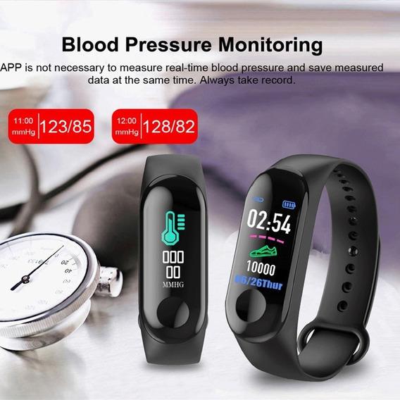 Relógio Smart M3 Fitness Sport A Prova Água Varias Funções