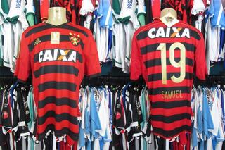 Sport Recife 2015 Camisa Titular Tamanho Gg Número 19 Samuel