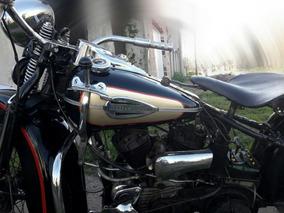 Harley Davidson 750 Cc Modelo 1946