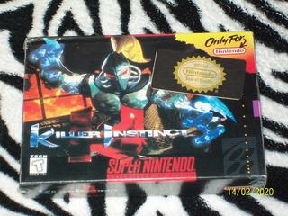 Killer Instinct Nuevo Fisico Sellado Super Nintendo Snes