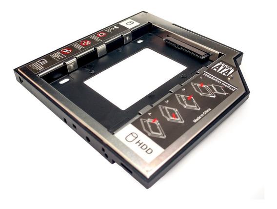 Adaptador Dvd Cdrom Para Hd Ssd 2,5 Notebook 12mm 12,7mm
