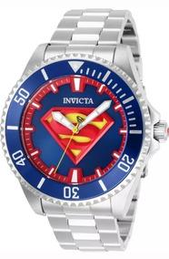 Incrível Relógio Invicta Superman Unisex 40mm Automático