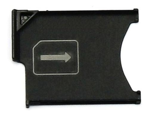 Bandeja Porta Micro Sim Card Sony Xperia Z L36h C6603 C6602