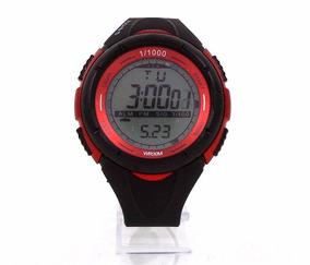 Relógio Digital Casio G-shock Preto E Vermelho