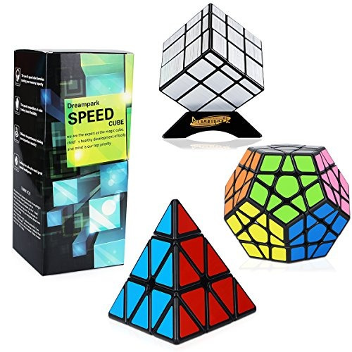 bbf52a17c90d Dreampark Speed ??cube Set [paquete De 3] Magic Puzzle Cube