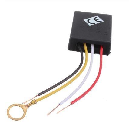 Sensor Interruptor Toque Com 3 Niveis Abajur E Luminarias