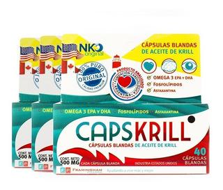 Capskrill Aceite Krill Original Omega3 120 Caps. Superoferta