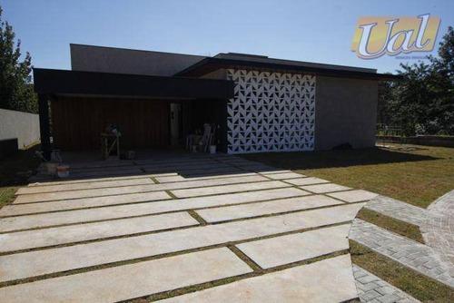 Casa Com 4 Dormitórios À Venda, 300 M² Por R$ 1.700.000,00 - Figueira Garden - Atibaia/sp - Ca1815
