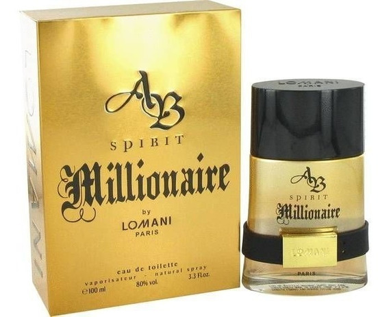 Perfume Spirit Millionaire Lomani Edt 100 Ml Original