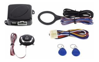 Kit Completo Ignição Botão Start Stop Central Chaveiro Rfid