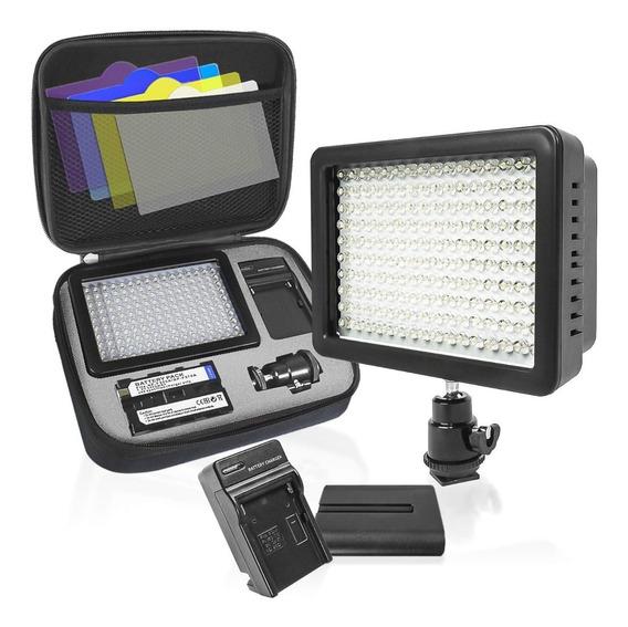 Lámpara Led Para Cámara De Video L-160
