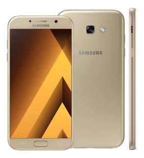 Samsung Galaxy A7 2017 64 Gb Dourado Dual Chip
