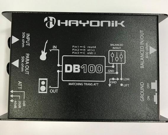 Direct Box Di Hayonik -- Db-100 -- Passivo -- Envio Imediato