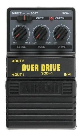 Arion Sod 1 Pedal P/ Guitarra Overdrive --oferta
