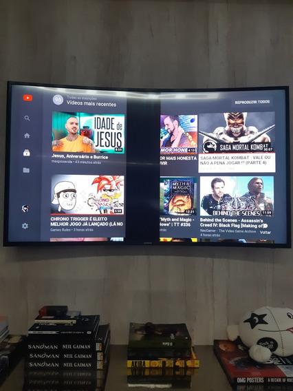 Televisão Samsung 4k 48 Pol Com Defeito(leia A Descrição)