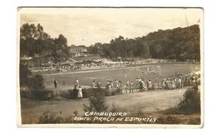 Raridade: Imagem Campo Dos Esportes Em Cambuquira 1947 M. G.
