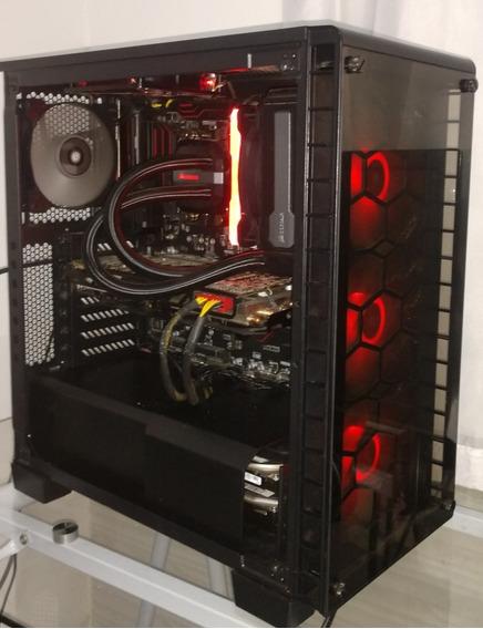 Computador Gamer, Ryzen 7 2700x, 16gb Ram, Ssd