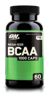Bcaa Mega - Size 1000 (60 Caps) Optimun Nutrition