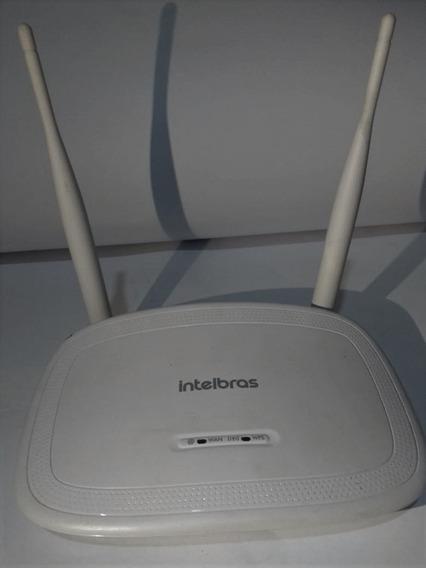 Roteador Wireless Intelbras N 300 Iwr 3000n Com Ipv6