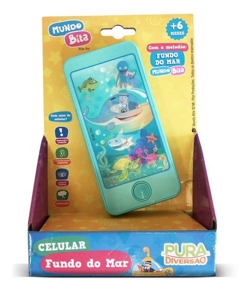 Mundo Bita - Celular Infantil Fundo Do Mar 20121 Yes Toys