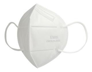 Kit 5 Máscara Descartável Proteção Kn95 Elástico 4 Camadas