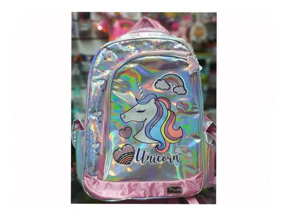 Mochila Espalda Kooshi Unicornio