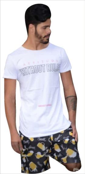 Camiseta Camisa Long Line Oversized