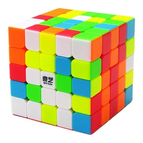 Cubo Mágico 5x5x5 Profissional Qiyi Qizheng S Colorido