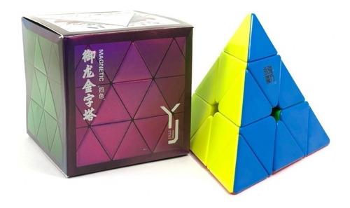 Pirámide Yj Yulong Pyraminx Magnético Puzzle Mágico Original