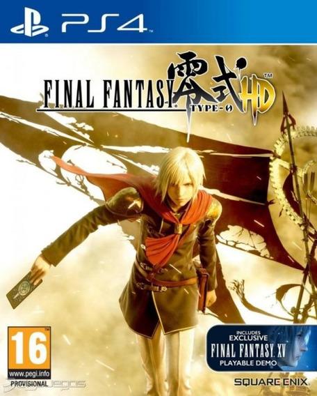 Final Fantasy Type 0 Ps4 Original**1