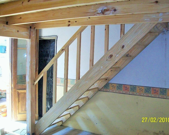 Entrepiso De Madera Hasta 12 M2 Con Escalera Simple