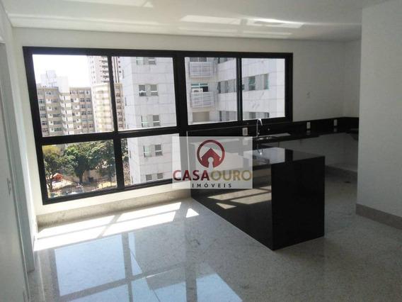 Linda Cobertura Com 2 Quartos, 3 Vagas No Serra, Belo Horizonte. - Co0190