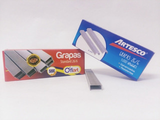 Grapas Lisas 26/6 Caja 5000 Und