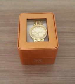 Caixa Para Relógio Feminina Individual Com Visor Luxo