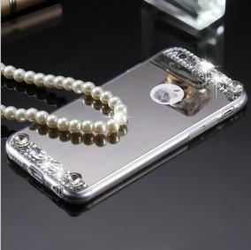 d7a1a63d082 Case Bumper Pedreria iPhone 8,8+, 7, 7 + Espejo Diamantes